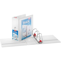Cardinal XtraLife ClearVue Non-Stick Locking Slant-D Ring Binder 5