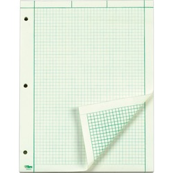 TOPS Engineering 5 Squares/Inch Computation Pad - 100 sheets