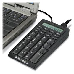 Kensington 72274 Notebook Keypad/Calculator with USB Hub - PC & MAC Compatible