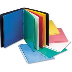 C-Line Colored Polypropylene Sheet Protectors Assorted Colors - 8 1/2 x 11 - 50 pk