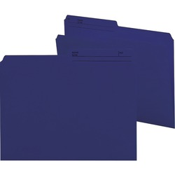 Smead Reversible File Folder 10362 - Navy 100 pack