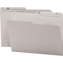 Smead Reversible File Folder 10363 - Grey 100 pack