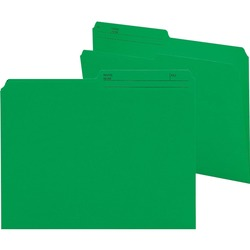 Smead Reversible Letter File Folder 10367 - Dark Green 100 pack