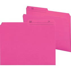 Smead Reversible Letter File Folder 10368 - Dark Pink 100 pack