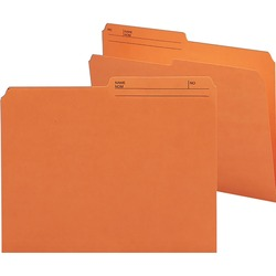 Smead Reversible Letter File Folder 10370 - Orange 100 pack