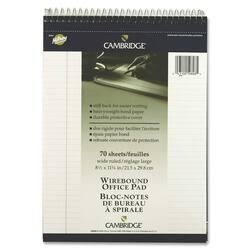 Hilroy Top Bound Letter Size Notebook - 140 pages