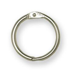 WESTCOTT Nickle-plated Loose Leaf Ring - 1