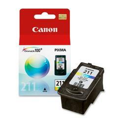 Canon CL-211 ChromaLife100 Plus Color Ink Cartridge