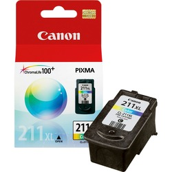 Canon CL-211XL ChromaLife100 Plus High Capacity Color Ink Cartridge