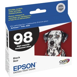 Epson Claria No. 98 High Capacity Ink Cartridge