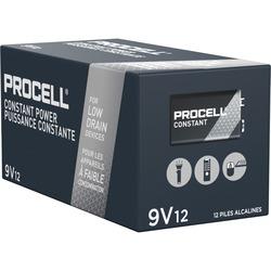 Duracell Procell 9 volt Alkaline General Purpose Batteries - 12 pk