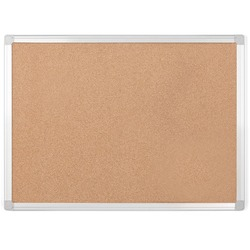 MasterVision Earth Cork Bulletin Board 4' x 6'