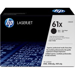 HP 61X (C8061X) High Yield Black Original LaserJet Toner Cartridge