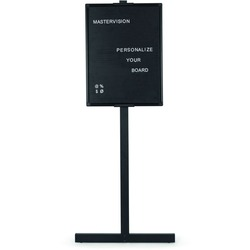 MasterVision Standing Letter Board 24