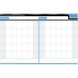 Quartet 30/60 Day Laminated Planner 24 x 36