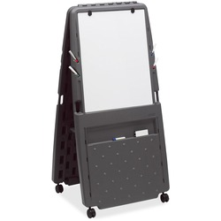 Iceberg Mobile Flipchart Easel with Dry-Erase Surface