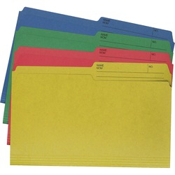 Hilroy Enviro Plus Legal Recycled File Folder - 40 pk