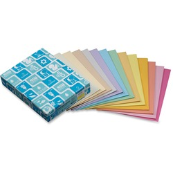 Domtar Coloured Blue Letter Multipurpose Paper - 20 lb - 500 sheets