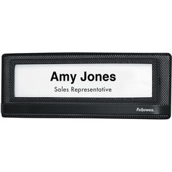Fellowes Mesh Partition Additions Name Plate
