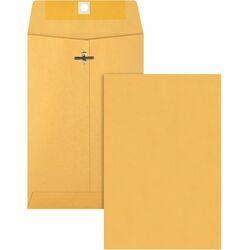 Business Source Heavy-Duty Clasp Envelope - 28 lb 6