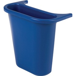 Rubbermaid 2950-73 Deskside Wastebasket Recycling Side Bin