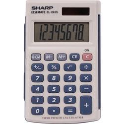 Sharp EL243SB Handheld Calculator