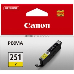 Canon CLI251Y Yellow Ink Cartridge