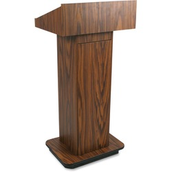 Amplivox Column Lectern | by Plexsupply