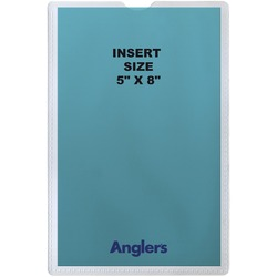 ANGLER'S Self-stick Crystal Clear Poly Envelopes   by Plexsupply