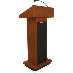 Amplivox Executive Sound Column Lectern | by Plexsupply