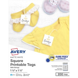 Avery Printable Marking Tags w/String | by Plexsupply