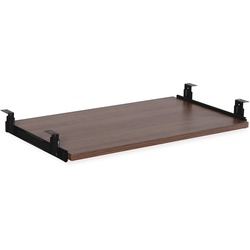 LORELL Essential Walnut Keyboard Tray