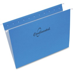 Continental Letter Size Hanging Folders - 25 pack