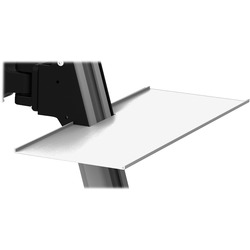 Lorell Delux Sit-to-Stand Workstation Accessory Tray