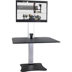 Victor High Rise Electric Height Adjustable Standing Desk Workstation