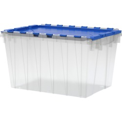 Akro-Mils 12-Gallon Keep Box Container w/ Lid | by Plexsupply