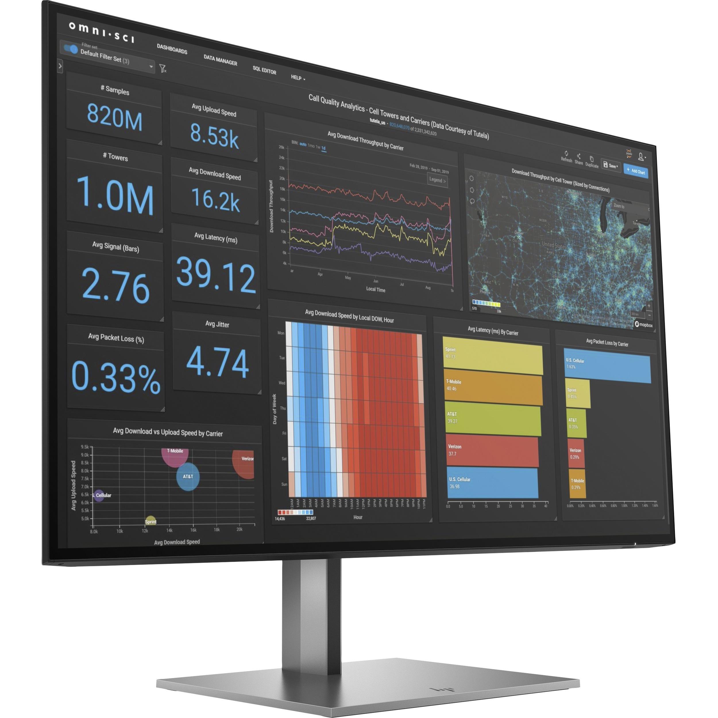"HP Z27q G3 27"" WQHD LCD Monitor - 16:9 - Silver_subImage_1"