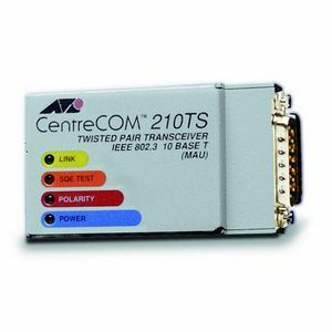Allied Telesis AT-210TS 10Mbps Ethernet Micro Transceiver