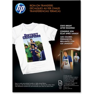 HP Iron on T Shirt Transfers