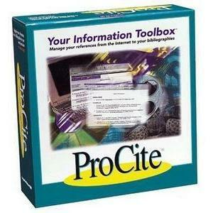 Thomson ResearchSoft Procite v.5.0