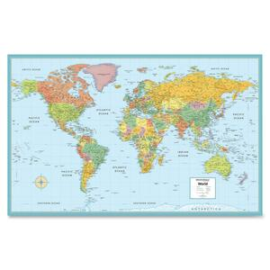 Rand McNally World Wall Map