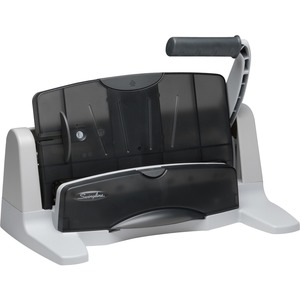 SWI74357 - Swingline LightTouch Three-Hole Punch