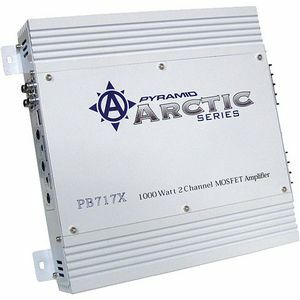 PYRAMID ARCTIC PB717X 2-Channel Car Amplifier