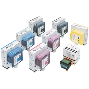 Canon 0172B001 INK, WIDE FORMAT, YELLOW, INK TANK Large Format Printer Ink