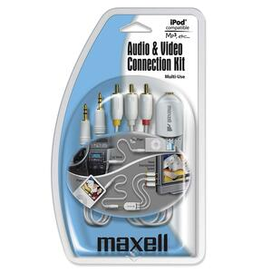 Maxell P-23 Audio/Video Cable