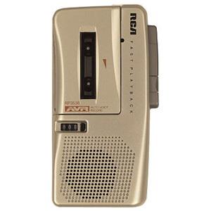 RCA RP3538 Microcassette Voice Recorder