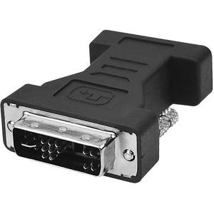 SIIG DVI to VGA Adapter - 1 x DVI-A Male Video - 1 x HD-15 Female - Black