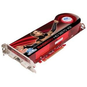 Sapphire 100221SR Radeon HD 3870X2 Graphics Card