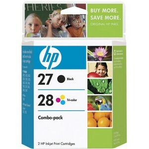 HP 27A / 28A Black and Tri-color Ink Cartridges