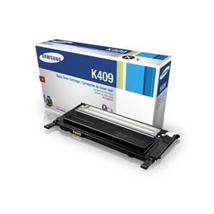 Samsung CLT-K409S Black Toner Cartridge - Laser - 1500 Page - Black